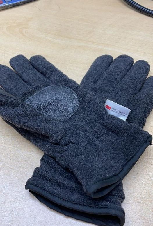 A pair of men's gloves were left in our ...