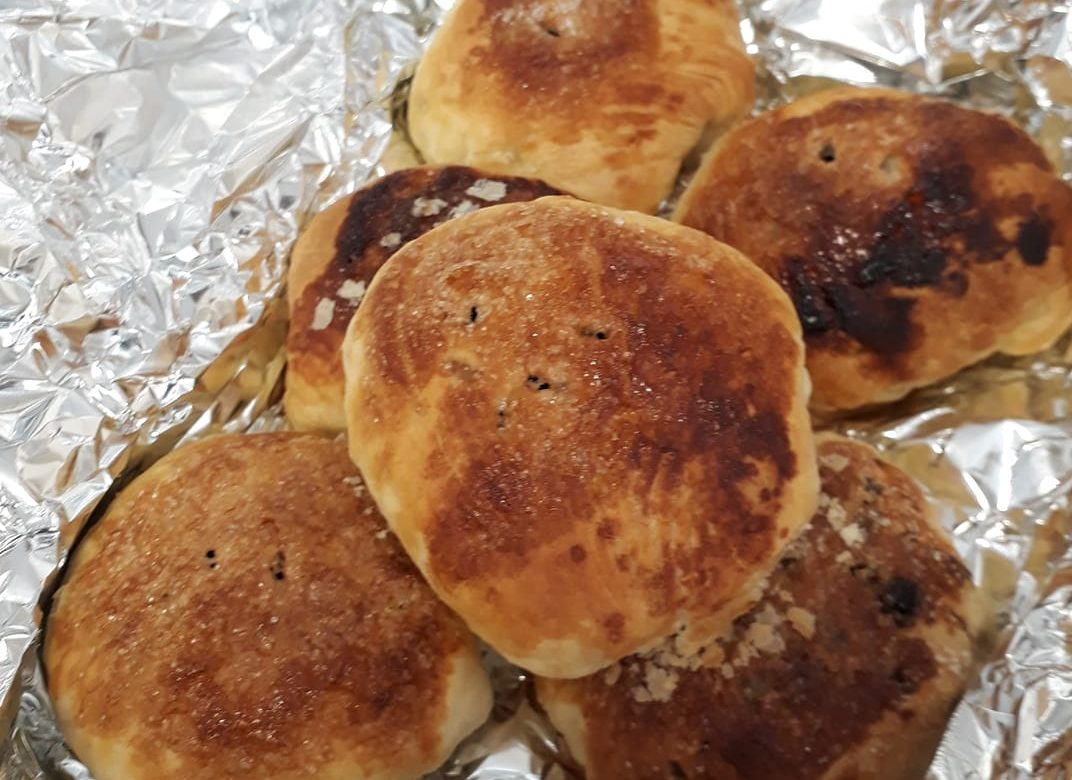 Homemade eccles cakes, a thank you from ...