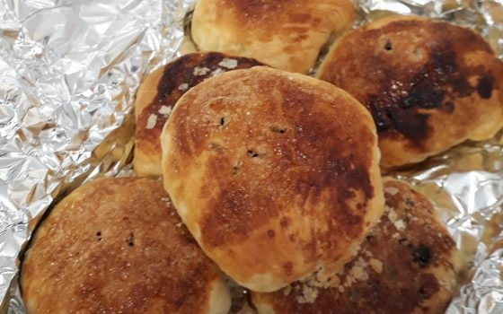 Homemade eccles cakes, a thank you from …