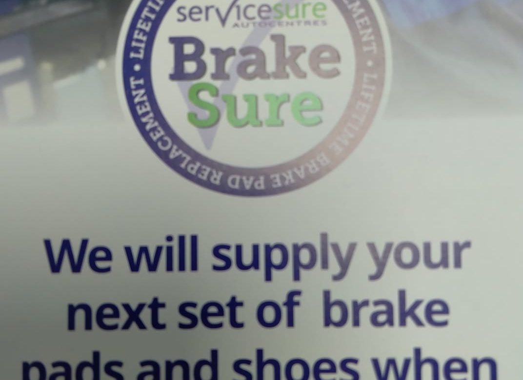 Next time you need your brakes replacing...