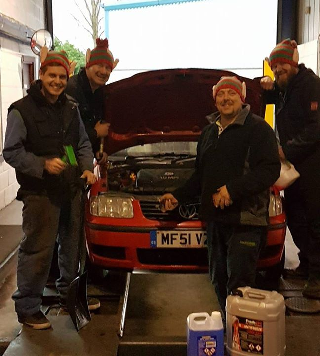 The Elves at KB TYRES invite you to come...