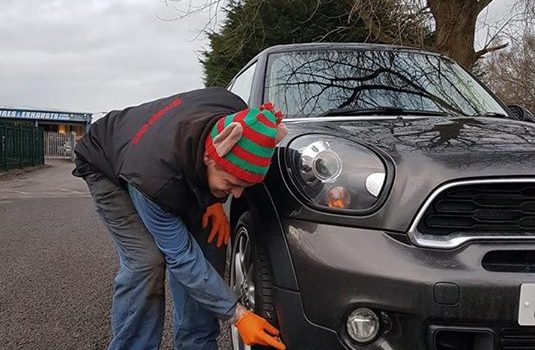 Today we have an Elf 'under pressure' ma…